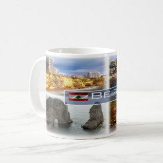 Lbs - Der Libanon - Beirut - Kaffeetasse