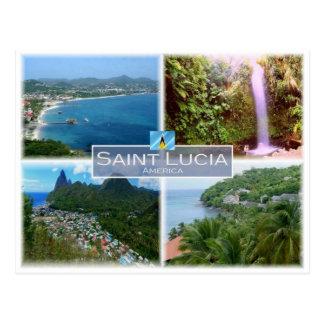 LC Heilige Lucia - Postkarte