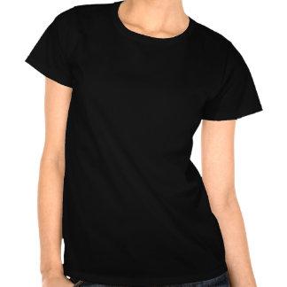 LCHF T - Shirt: LCHF ACDC, weiße Kontur Tshirts