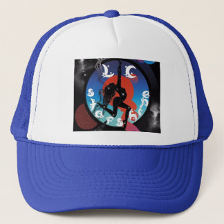 LCstarshine Maschen-Hüte Truckerkappe