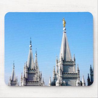 lds Salt Lake City Tempelengel Moroni Mousepad
