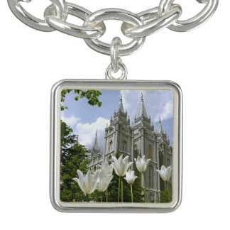 LDS Tempel-Charme-Armband Charm Armbänder