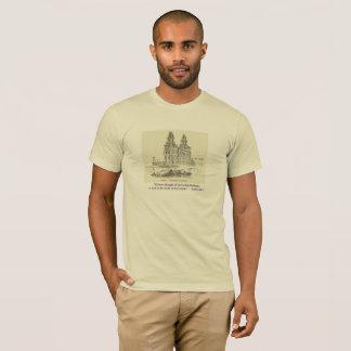 LDS und Bibel-Zitate mit Tempel-T-Shirt für Männer T-Shirt