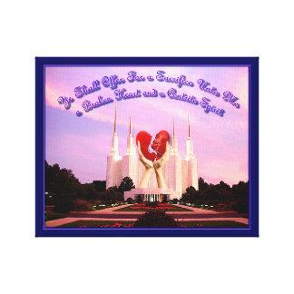 LDS Washington, D.C. Temple Leinwanddruck