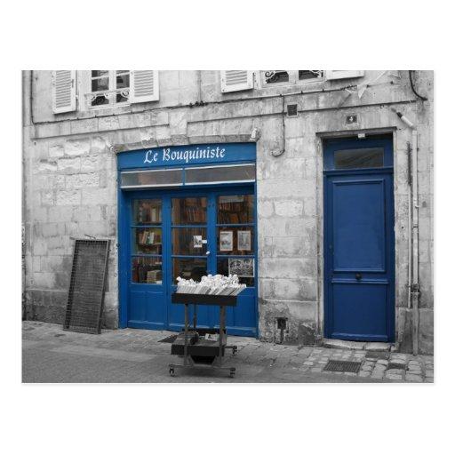 Le Bouquiniste Postkarte