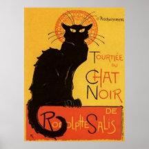 Le Chat Noir Posterdrucke