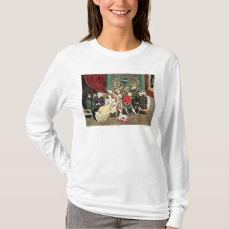 Le Faubourg Heilig-Germain, graviert durch Delpech T-Shirt
