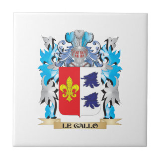 Le-Gallo Coat of Arms - Family Crest Tile