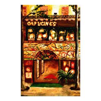 Le Grand Cafe Capucines in Paris Frankreich Briefpapier