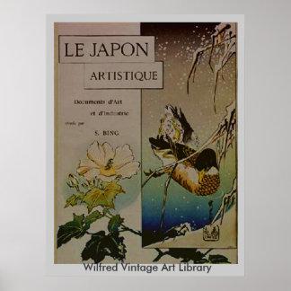 Le Japon Artistique Poster