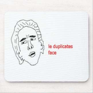 Le kopiert Gesicht - Internet Meme Mousepad