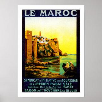 Le Maroc ~ Rabat Poster