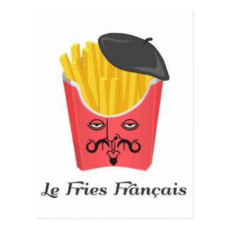 Le-Pommes-Frites von Frankreich Postkarte