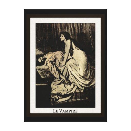 Le Vampire durch Burne-Jones Leinwanddruck