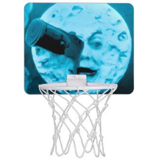 Le Voyage dans La Lune Vintager blauer Mond Mini Basketball Ring