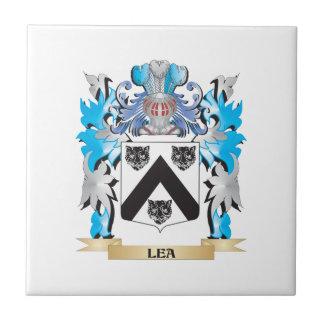 Lea Coat of Arms - Family Crest Ceramic Tile