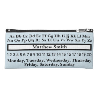 Learning Pencil Case Personalized