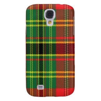 Leask schottischer Tartan Samsung rufen Fall an