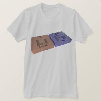 Leben als Li-Lithium und F.E.-Eisen T-Shirt