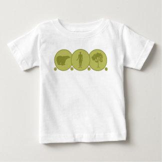 Leben angeschlossen baby t-shirt