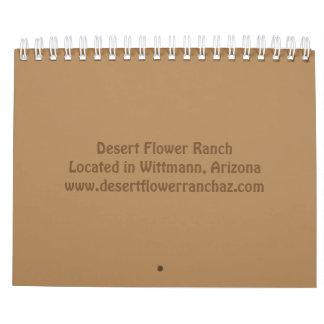 Leben auf einem Ranch-Kalender Kalender