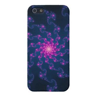 Leben-Blumen-Fraktal-Kunst iPhone 5 Etuis