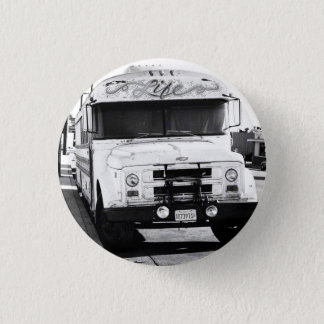 Leben-Bus Runder Button 3,2 Cm