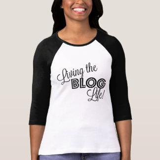 Leben das Blog-Leben!  Blogger-Shirt T-Shirt