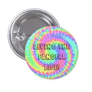 Leben das fangirl Leben! Knopf Runder Button 2,5 Cm