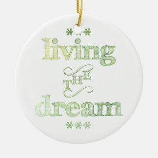 Leben das Traum-Grün Ornament