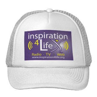 Leben der Inspirations-4 Radio, Fernsehen und Trucker Mütze