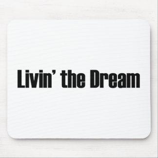 Leben der Traum Mousepads