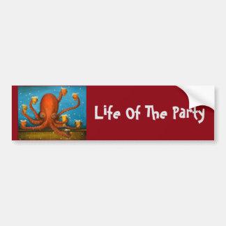 Leben des Party Autoaufkleber
