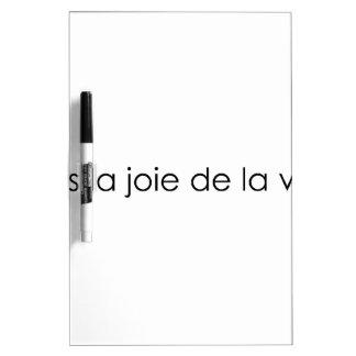 Leben die Freude am Leben! Whiteboard