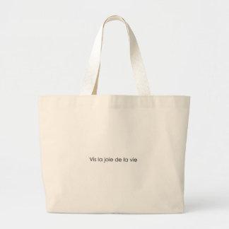 Leben die Freude am Leben! Einkaufstasche