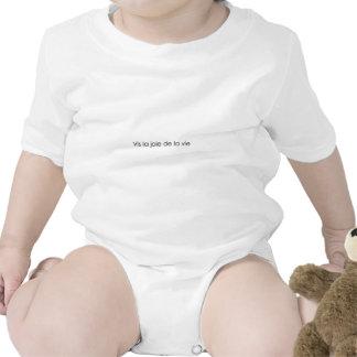 Leben die Freude am Leben! Baby Strampelanzug