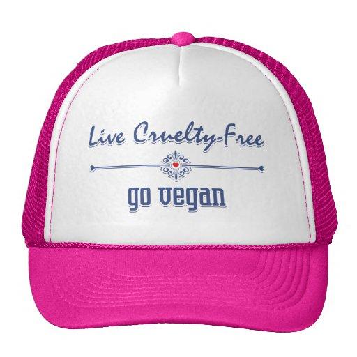 Leben die Grausamkeit, die frei ist, gehen vegan Retrokult Cap