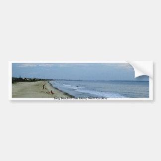 Leben entlang dem Strand Autoaufkleber