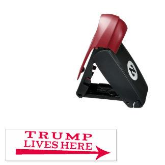 Leben-hier lustige Briefmarke Präsidenten-Donald Taschenstempel