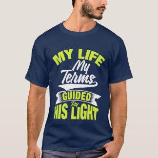 Leben Ihr Leben auf Ihren Ausdrücken? T-Shirt