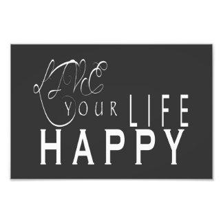 Leben Ihr Leben-glücklicher Hochzeits-Druck 6X4, Photodruck