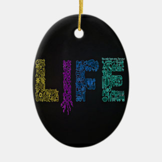Leben Ihr Leben Keramik Ornament