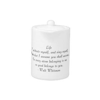 Leben Ihre Teekanne
