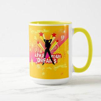 Leben Ihre Traum-Tasse Tasse