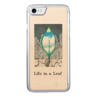 Leben in einem Blatt (dünn) Carved iPhone 8/7 Hülle