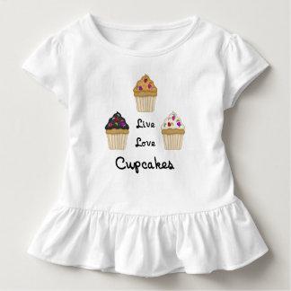 Leben kleine Kuchen Liebe Kleinkind T-shirt
