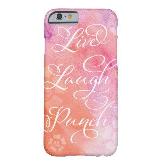 Leben Lachen-Durchschlags-Telefon-Kasten Barely There iPhone 6 Hülle