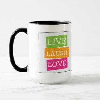 Leben Lachen-Liebe 2 Tasse