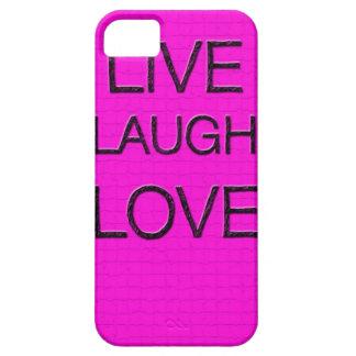 Leben Lachen-Liebe 3D iPhone Fall iPhone 5 Hüllen
