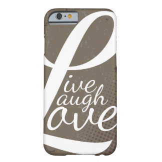 LEBEN LACHEN-LIEBE BARELY THERE iPhone 6 HÜLLE